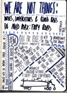 Sketchnotes - Fury Road Panel